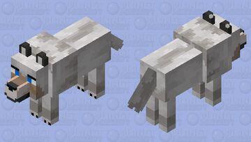 HD Wolf Minecraft Mob Skin