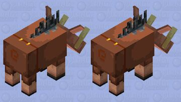 Hogified Piglin Minecraft Mob Skin