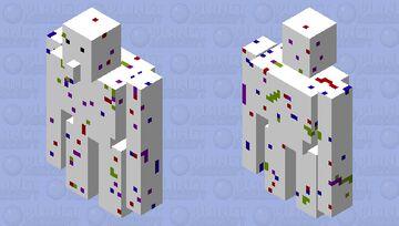 Speckled Golem Minecraft Mob Skin