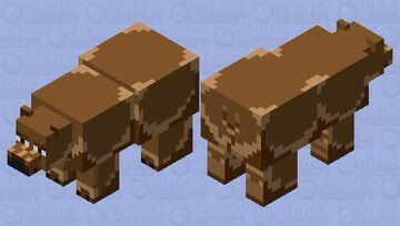 bear Minecraft Mob Skin