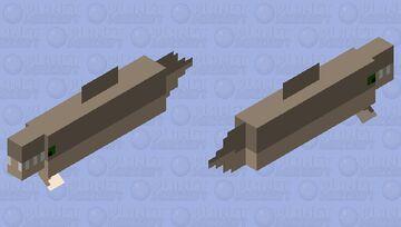 Alligator gar Minecraft Mob Skin
