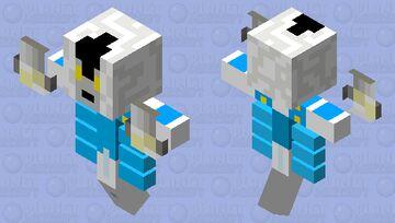 ZA HANDO (jojos) Minecraft Mob Skin