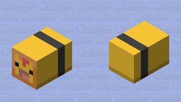 Bottom Combee (Female) Minecraft Mob Skin