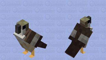 Verletzter Falke Minecraft Mob Skin