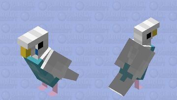 parakeet/budgie Minecraft Mob Skin