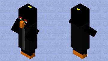 Angry birds villager 5 Minecraft Mob Skin