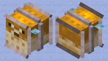 Jailed Pufferfish Minecraft Mob Skin