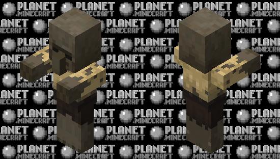 Villager Husk / re-texturing Minecraft Skin