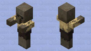 Villager Husk / re-texturing Minecraft Mob Skin