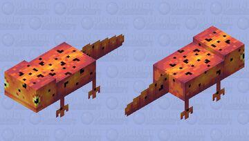 Salamander Minecraft Mob Skin