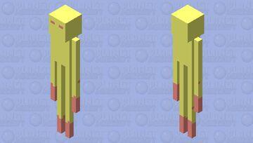 End Stone Endermen Minecraft Mob Skin