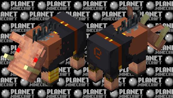 Hogified Piglin Brute Minecraft Skin