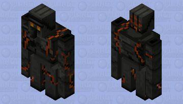 Minecraft Story Mode Magma Golem Minecraft Mob Skin
