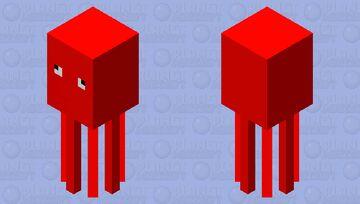 Corrupt Squid Minecraft Mob Skin