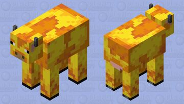 Honeycomb Cow Minecraft Mob Skin