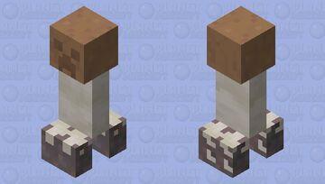 Creeper Brown Mushroom Minecraft Mob Skin
