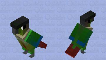 Tiriba-de-cara-suja (Pyrrhura molinae) Minecraft Mob Skin