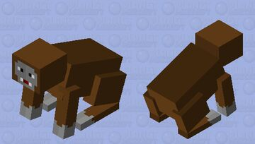 Kong jr. Minecraft Mob Skin