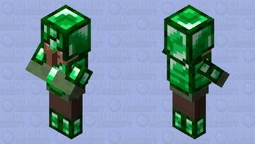 Villager Knight Minecraft Mob Skin