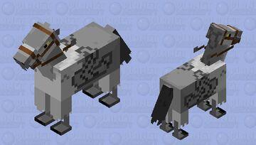 Harry Potter Hippogriff (Buck Beak)# i cauldint make all the legs different sorry Minecraft Mob Skin