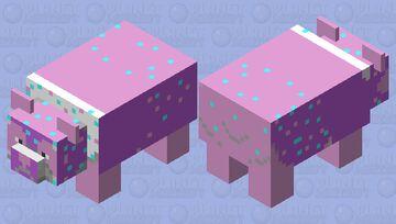 Enchanted Panda Minecraft Mob Skin