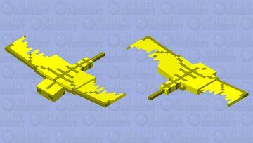 Golden Phantom Minecraft Mob Skin