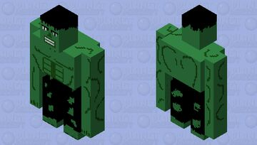 The Incredible Hulk (Updated Version) Minecraft Mob Skin