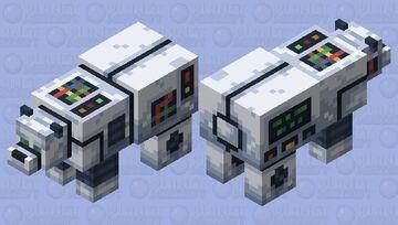 P0L4R-B34R | Mark II Minecraft Mob Skin