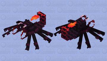 Red scorpion (cartoon) Minecraft Mob Skin