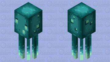 Glow squid - Minecraft: Caves & Cliffs update/ please like it ;) Minecraft Mob Skin