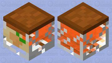 Apricot Jam jar magma cube Minecraft Mob Skin