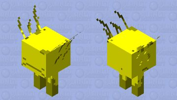 Golden Strider Minecraft Mob Skin