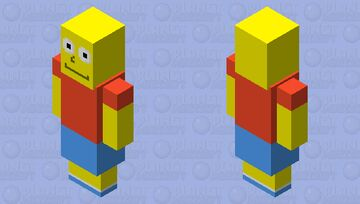 Bart Simpson Minecraft Mob Skin