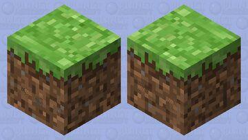 земля Minecraft Mob Skin
