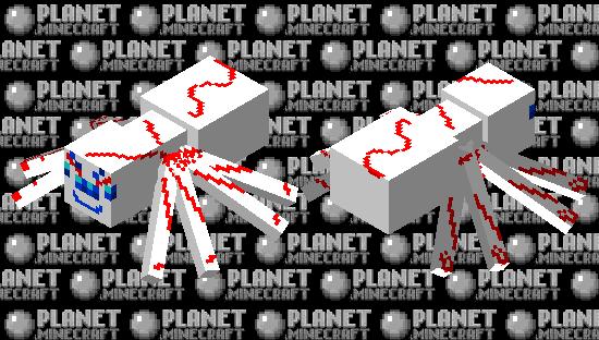 Bloodstained Spider Minecraft Skin