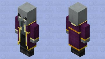 Mage illager / for Minecraft Dungeons / Remade Re-texturing Minecraft Mob Skin