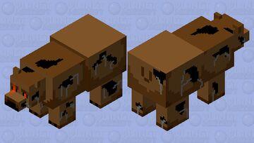 Nightmare Freddy Minecraft Mob Skin