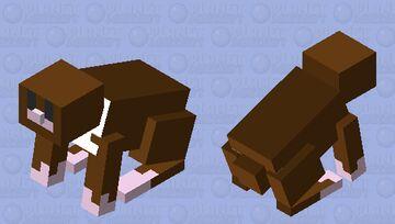 brown Niffler fantastic bests # harry potter Minecraft Mob Skin