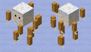 Lord KFC Man Minecraft Mob Skin