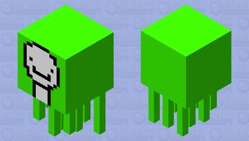 Dream ghast Minecraft Mob Skin