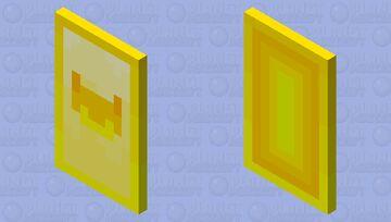Yellow yaks! (Eyes hidden) Minecraft Mob Skin