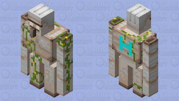 Herobrine's iron golem Minecraft Mob Skin