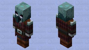 Enchanted Pillager Minecraft Dungeons Minecraft Mob Skin