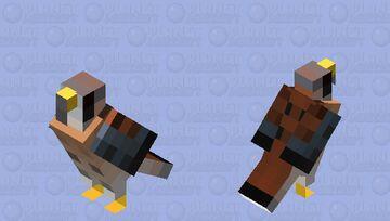 Quiriquiri (Falco sparverius) Minecraft Mob Skin