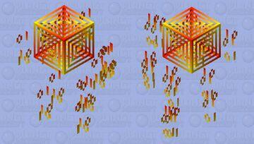 Forgotten in my files...Digital blaze Minecraft Mob Skin