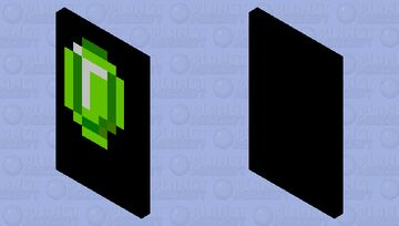 Sorry I'm not good making Emerald Capes Minecraft Mob Skin