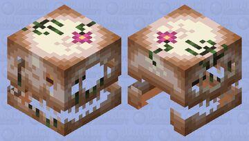 Fossil Lurker Minecraft Mob Skin