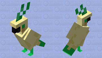 Birb Totem Minecraft Mob Skin