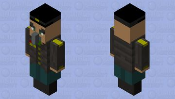 militar evoker Minecraft Mob Skin