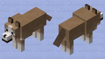 Australian Shepherd Minecraft Mob Skin